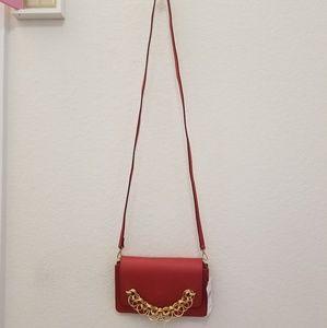 Chloe Drew Bijou Leather Clutch Red
